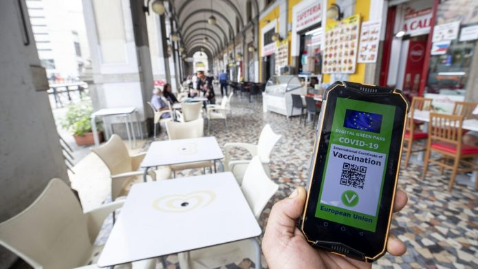 green pass in italy olaszorszag